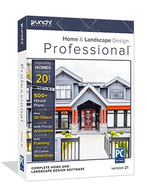 Punch Home Landscape Design Professional V21