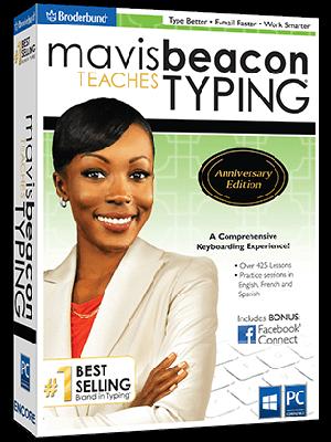 Mavis Beacon Teaches Typing Anniversary Edition