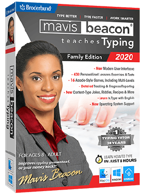 Mavis Beacon Teaches Typing 2020 - Family  Edition