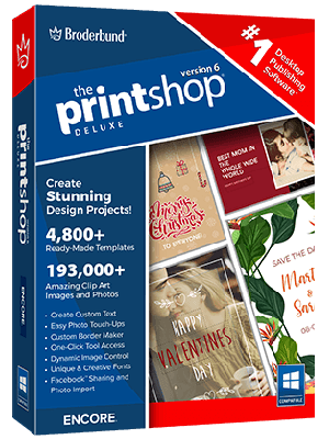 The Print Shop Deluxe 6.0 5349