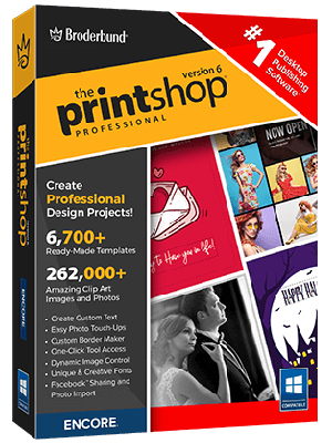 The Print Shop Professional 6.0