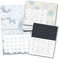 Select your calendar style and template, or create your very own design from scratch.