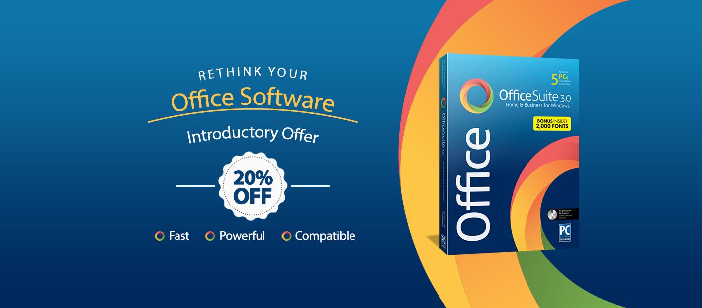 Office Suite 3.0 20% off Sale
