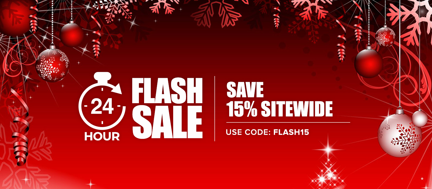 Site Wide 15% Off | Coupon Code: FLASH15