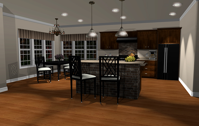 Punch Software-Kitchen-and-Living-Room-Precision-Lighting