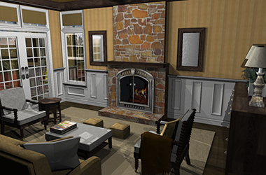 Fireplace Wizard and Mantel designer